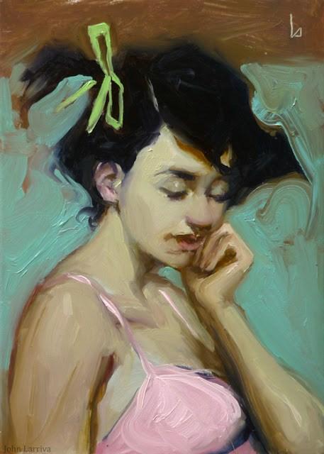 """Daydream"" original fine art by John Larriva"