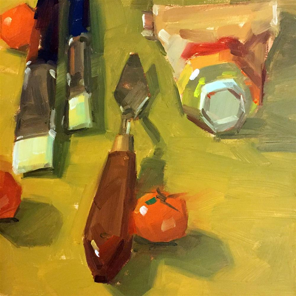 """""""Painting Tools"""" original fine art by Jiyoung Kim"""