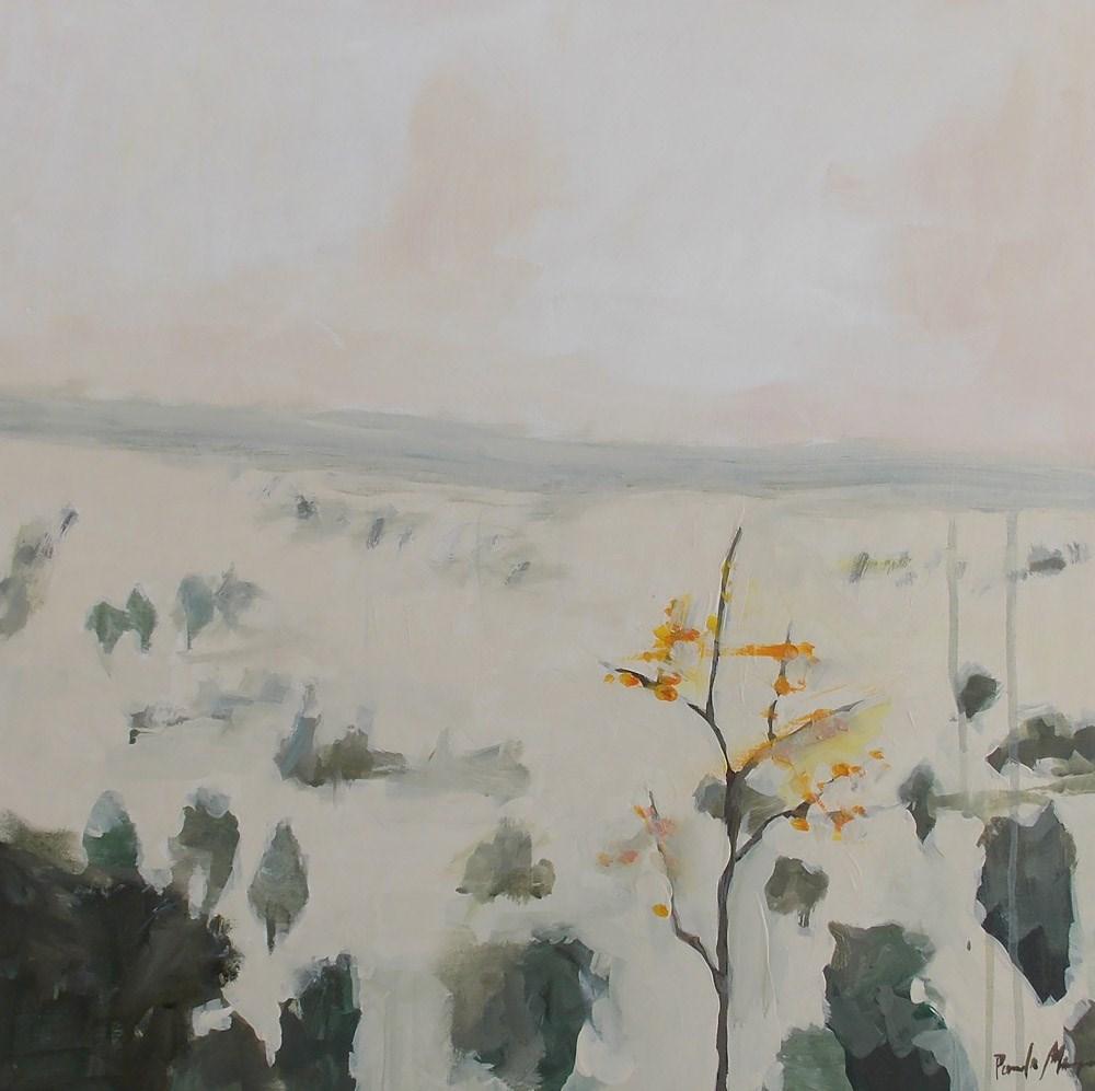 """""""Aspen Among the Evergreen"""" original fine art by Pamela Munger"""