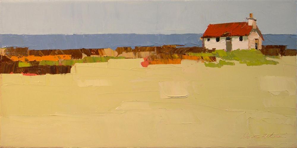 """""""Beyond Lies the Sea"""" original fine art by Donna Walker"""