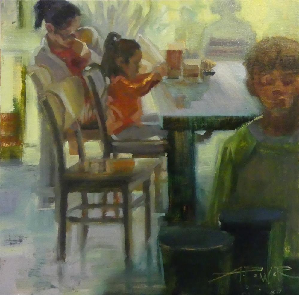 """Moment of Solitude "" original fine art by Anette Power"