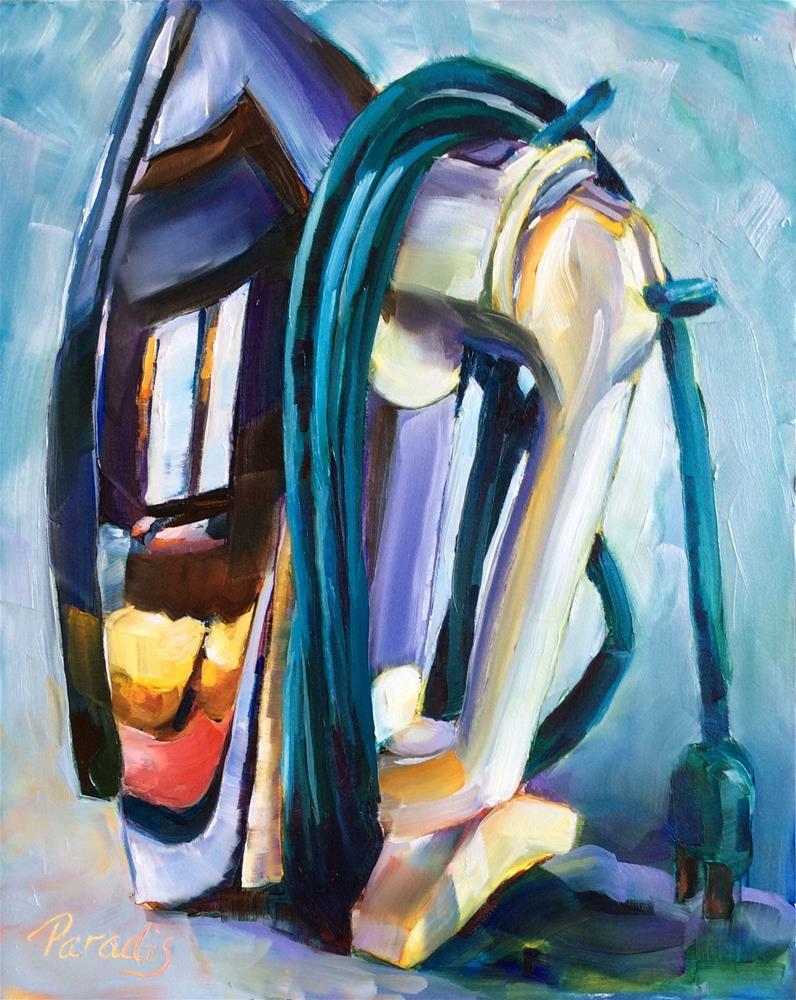 """Fallen Into Disuse"" original fine art by Rita Paradis"