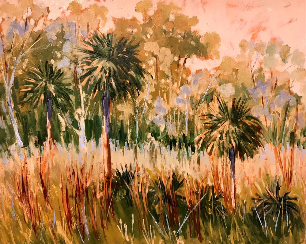 """Merritt Island"" original fine art by Linda Blondheim"