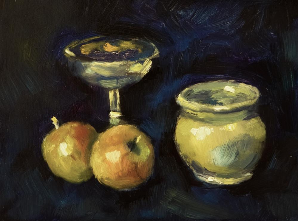 """""""Fruit, Pot and Chalice"""" original fine art by Andre Pallat"""