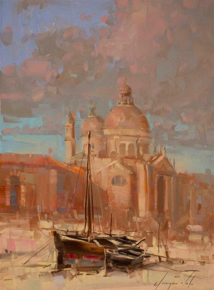 """Venice"" original fine art by V Y"