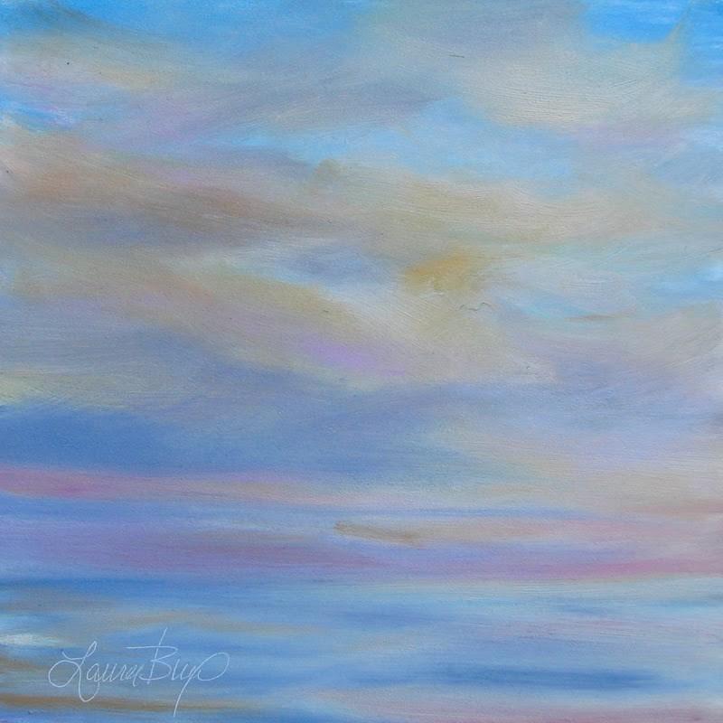 """Almost Over"" original fine art by Laura  Buxo"