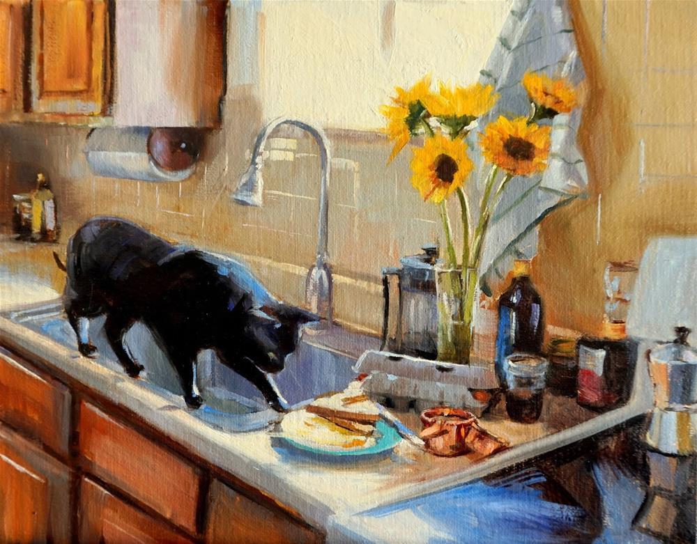 """""""Breakfast"""" original fine art by Jonelle Summerfield"""