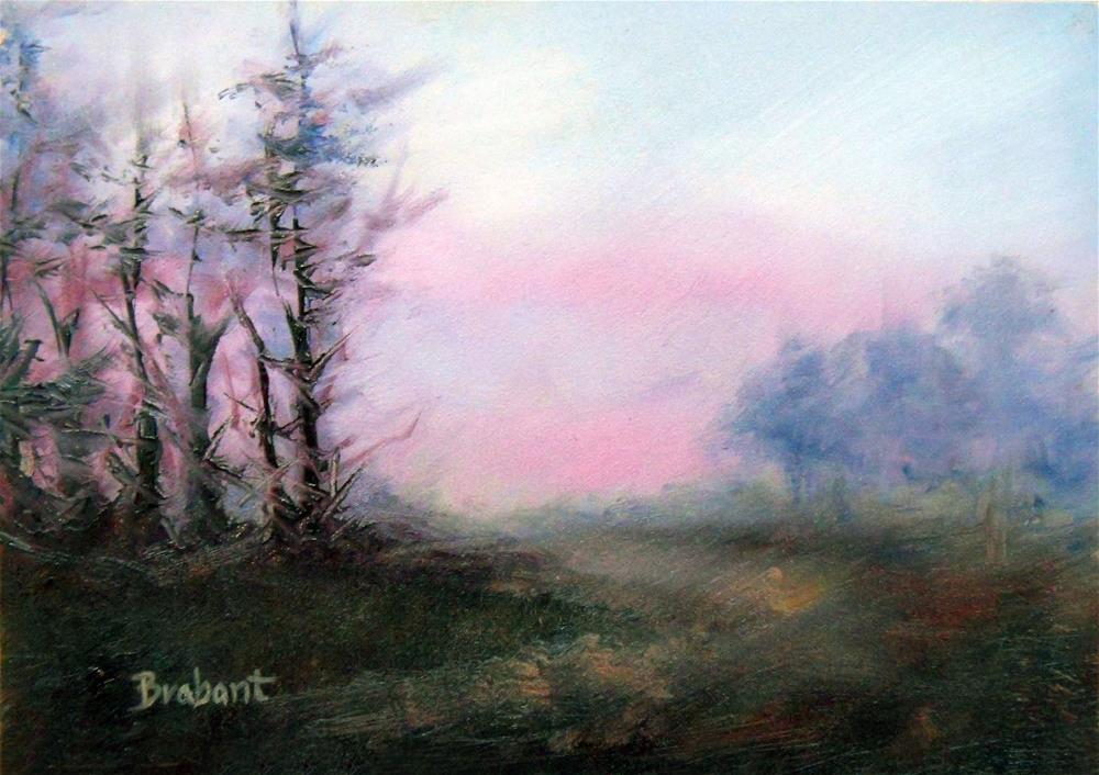 """Winter Silence"" original fine art by Jill Brabant"