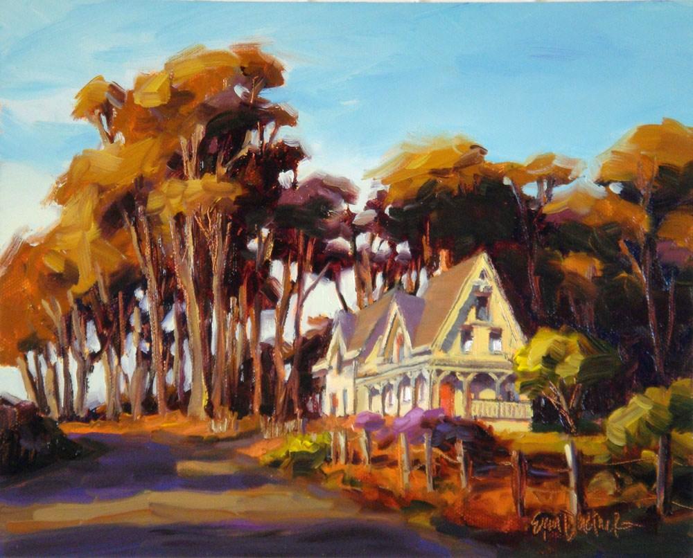 """Luminous Landmark"" original fine art by Erin Dertner"