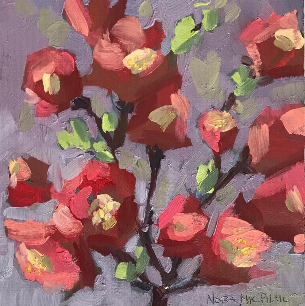 """spring sprig"" original fine art by Nora MacPhail"