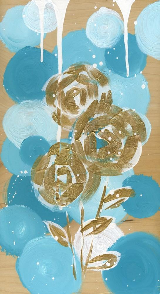 """Golden Blooms"" original fine art by Kali Parsons"