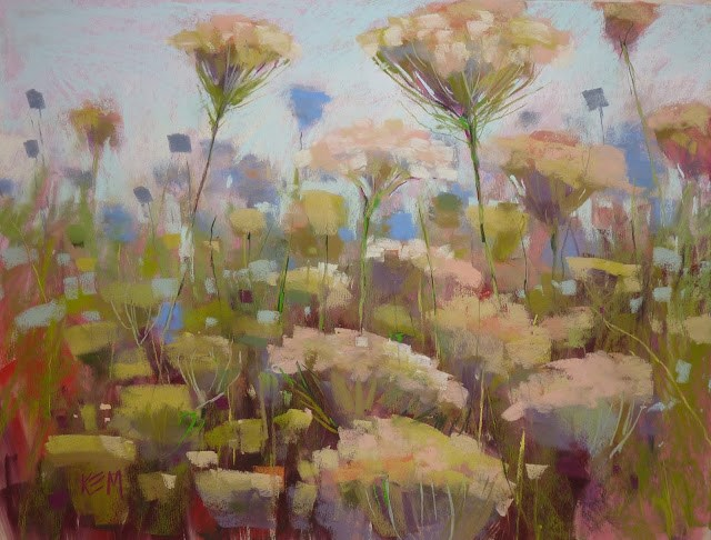 """Tips for Painting Large Pastels"" original fine art by Karen Margulis"