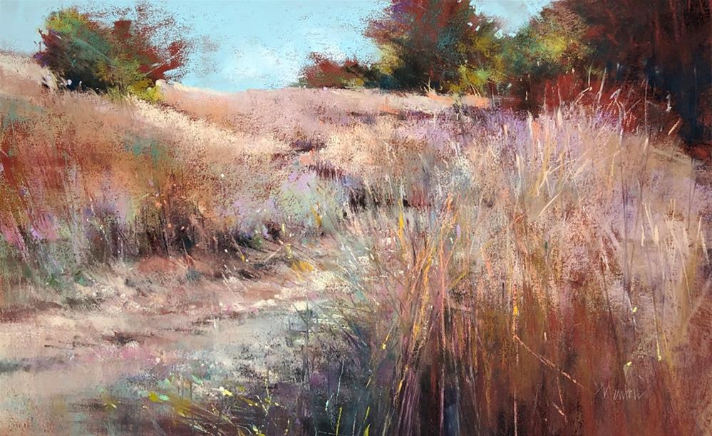 """Grassland"" original fine art by Barbara Benedetti Newton"