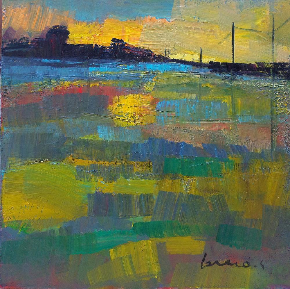 """Field the light"" original fine art by salvatore greco"