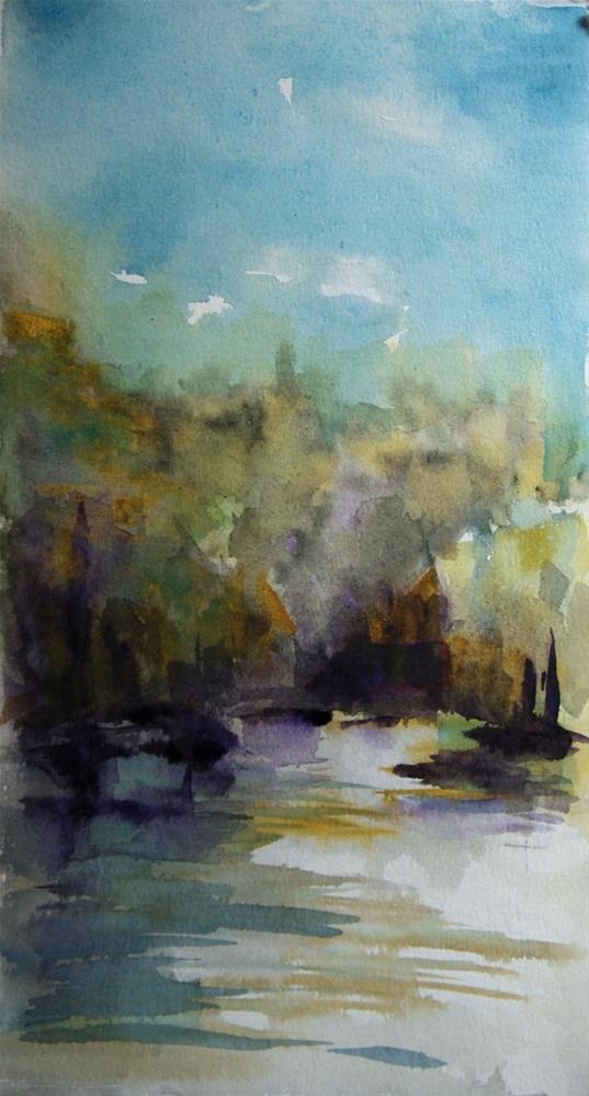 """Kentucky Lake"" original fine art by Amy Bryce"