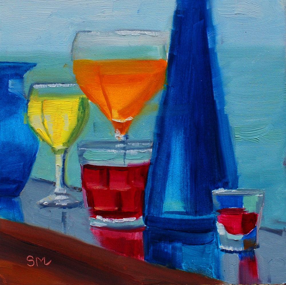 """Jen's Still Life"" original fine art by Susan McManamen"