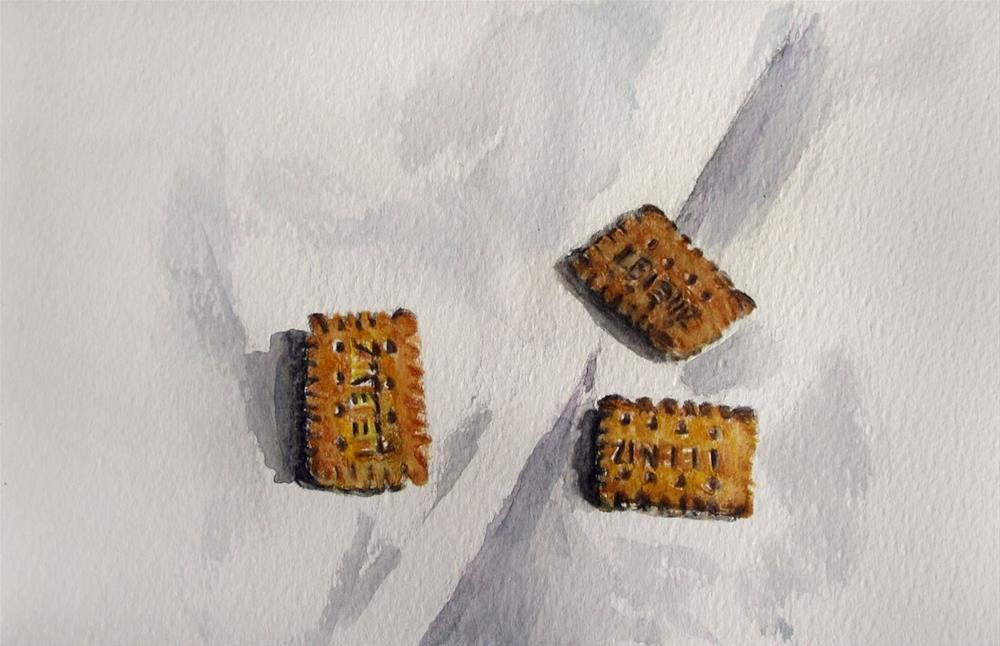 """""""Butter Cookies"""" original fine art by Ulrike Miesen-Schuermann"""