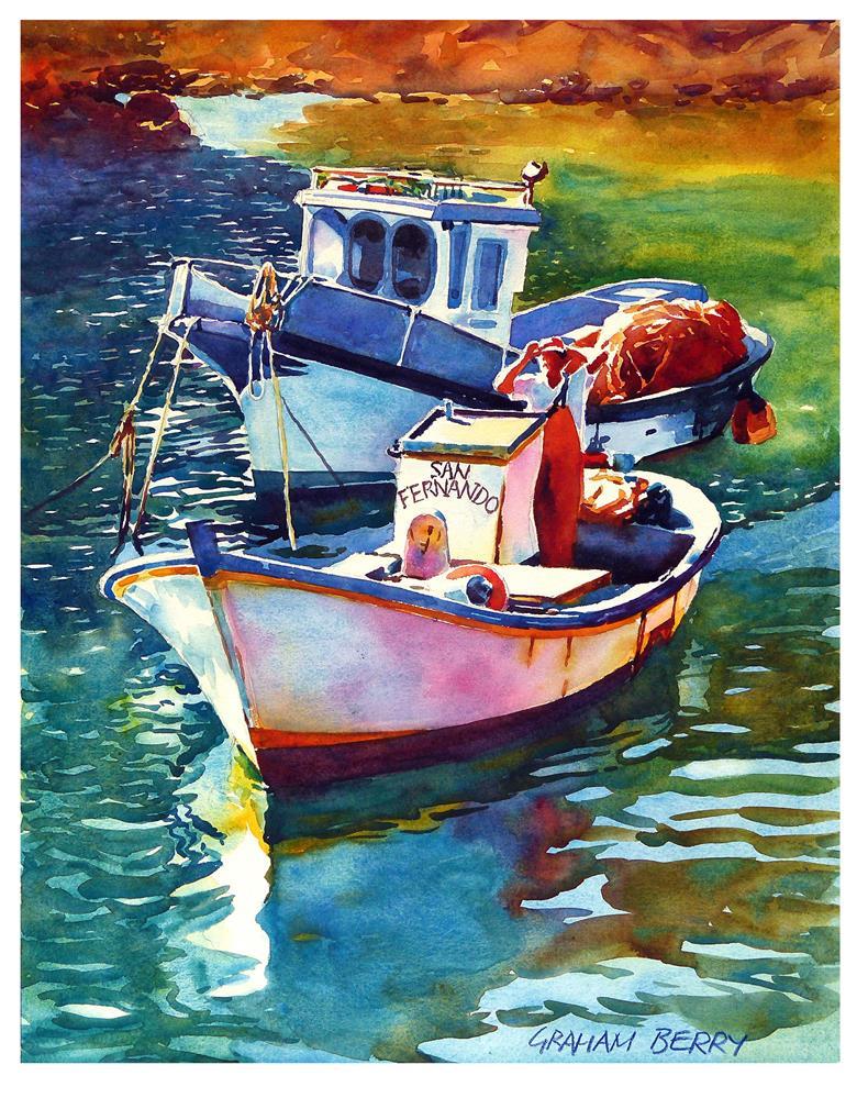 """""""San Fernando."""" original fine art by Graham Berry"""