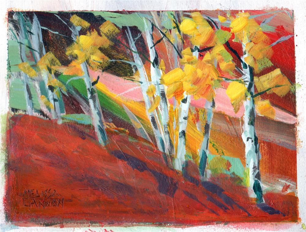 """""""Colors of Autumn"""" original fine art by Melissa Gannon"""
