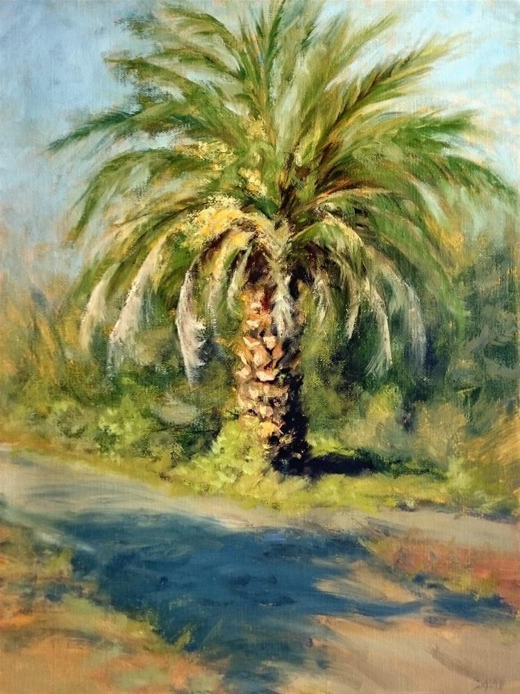 """Sonoma Palm"" original fine art by Dalan Wells"