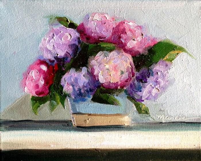 """Happy Anniversary"" original fine art by Marcia Hodges"