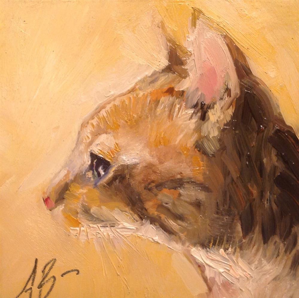 """BoyBoy"" original fine art by Annette Balesteri"