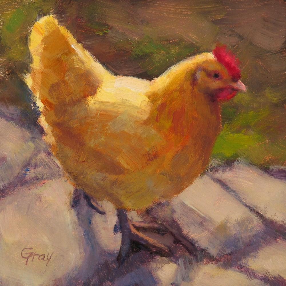 """Morning Walk"" original fine art by Naomi Gray"