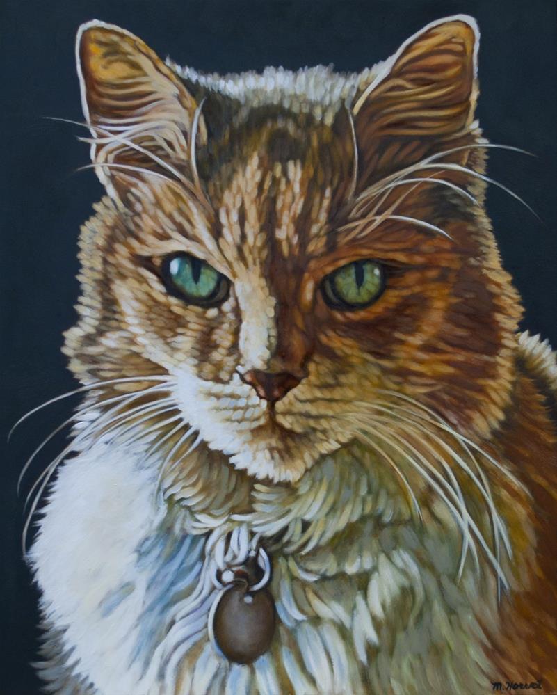"""""""Cleopatra Eyes"""" original fine art by Margaret Horvat"""