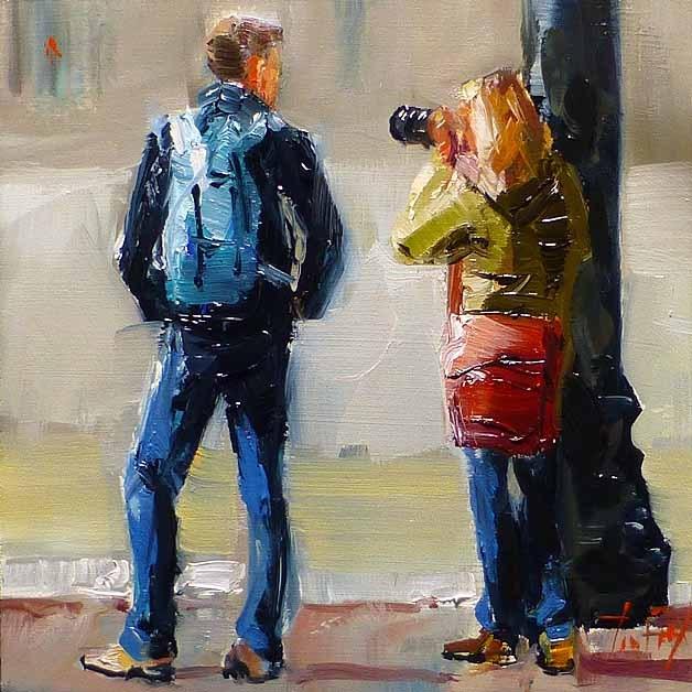 """""""Fotografin"""" original fine art by Jurij Frey"""