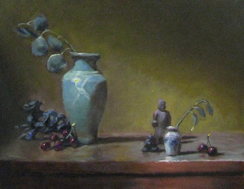 """""""shedding the light"""" original fine art by tom dawson"""