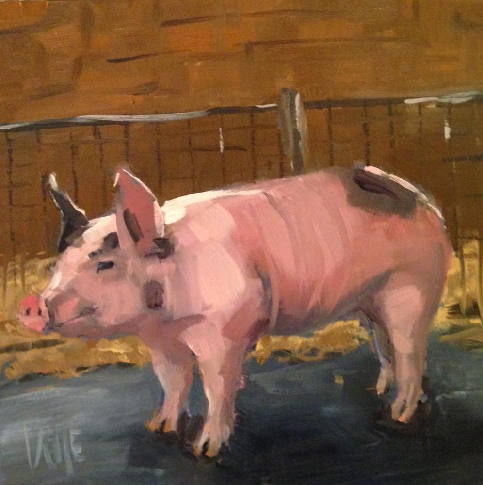 """""""#157 Walking Proud"""" original fine art by Patty Voje"""