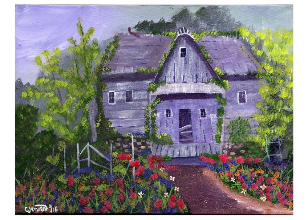 """""""Forgotten"""" original fine art by Cindy Jensen"""