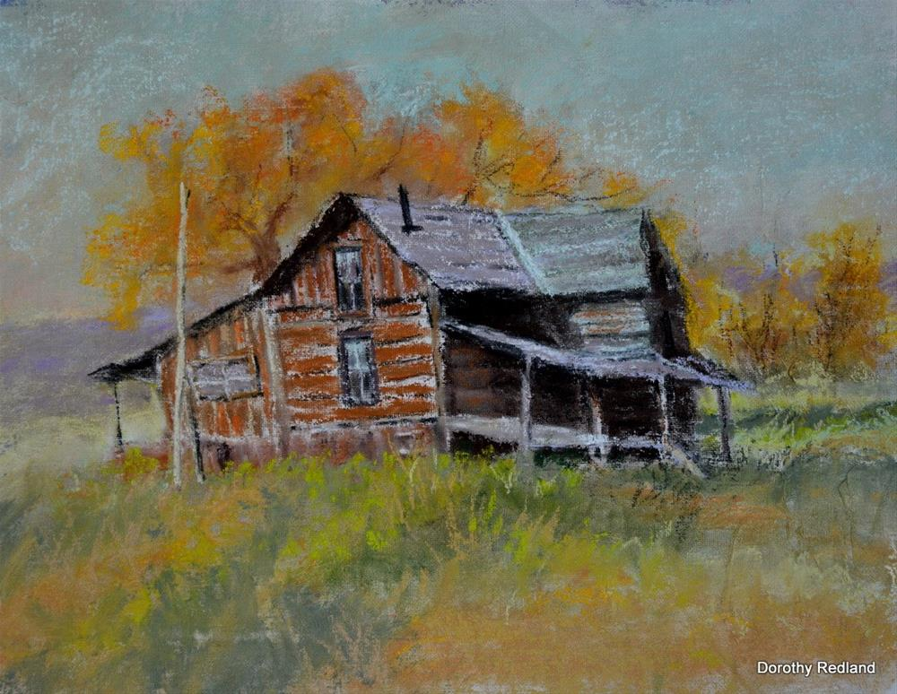 """""""The old Sealy place"""" original fine art by Dorothy Redland"""