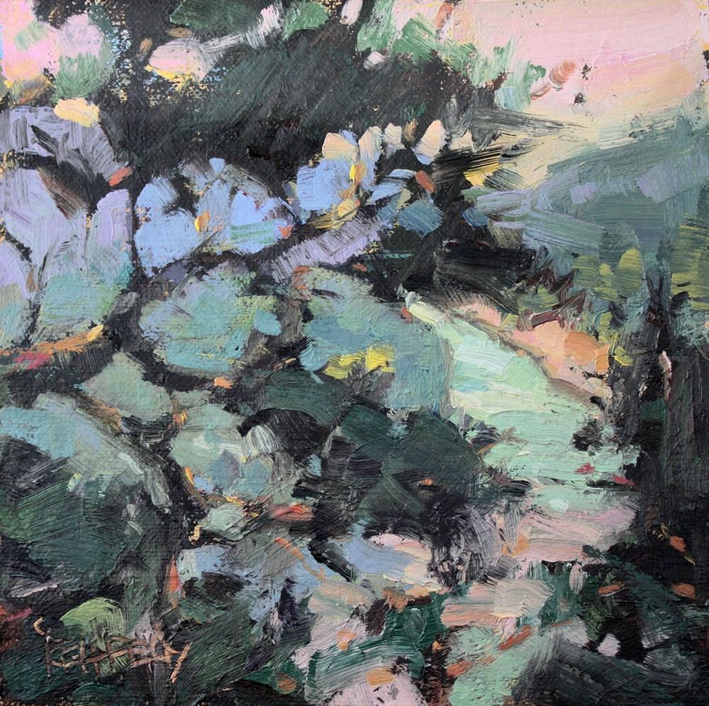 """The Hood River"" original fine art by Cathleen Rehfeld"