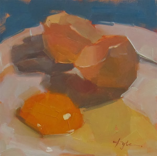 """""""30 Paintings in 30 Days. Day 20"""" original fine art by Katia Kyte"""