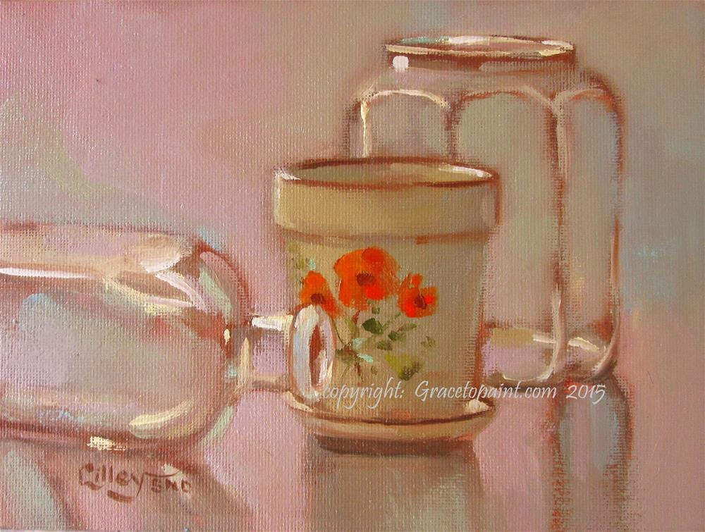 """Poppy Pot"" original fine art by Maresa Lilley"