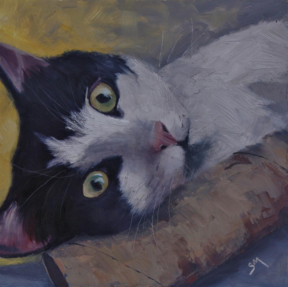 """Gertie"" original fine art by Sheila Marie"