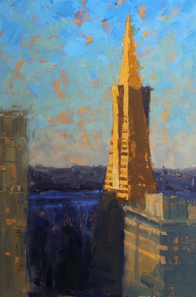"""""""Tower"""" original fine art by Kim VanDerHoek"""
