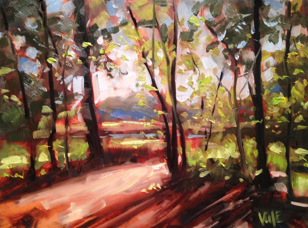 """""""#191 Minnesota Fall"""" original fine art by Patty Voje"""