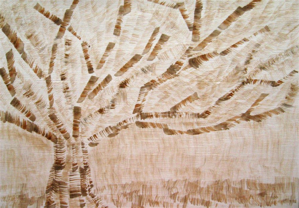 """My Single Tree"" original fine art by Alina Frent"