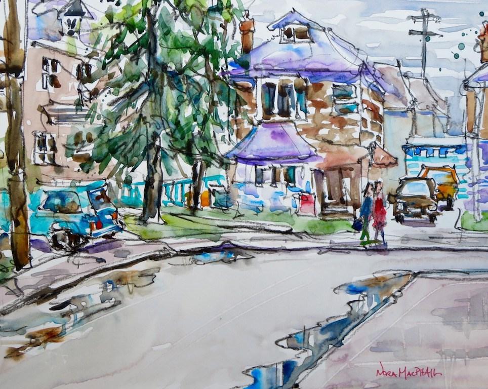 """after the rain"" original fine art by Nora MacPhail"