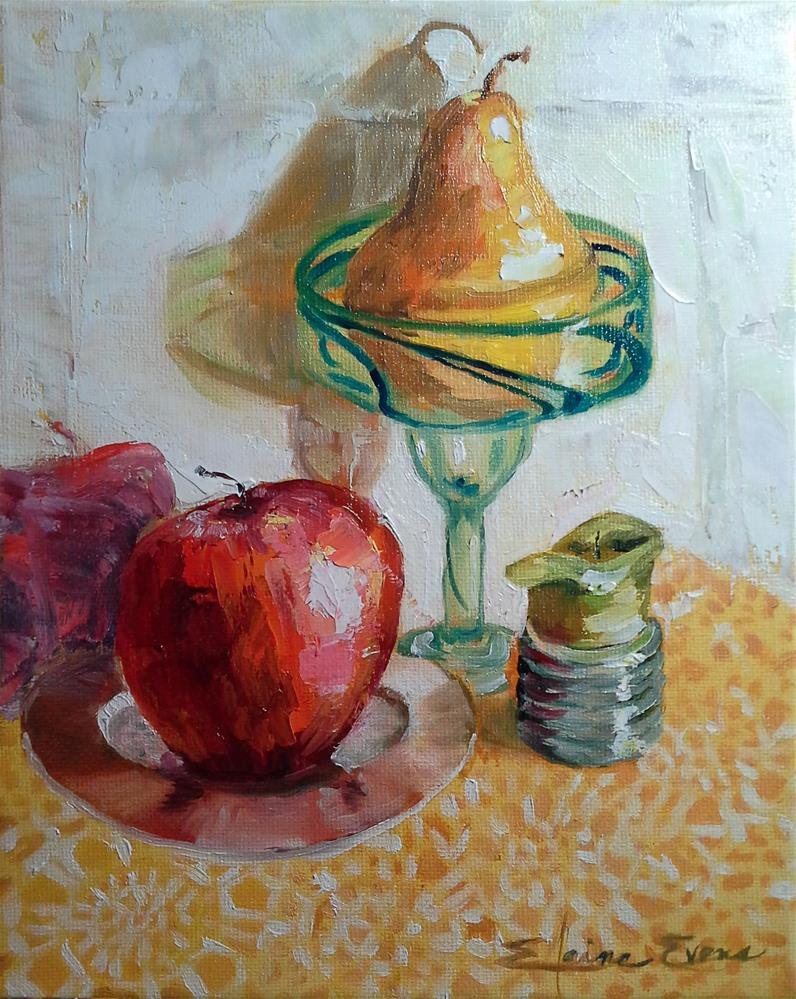 """Wicks and Things"" original fine art by Elaine Evans"