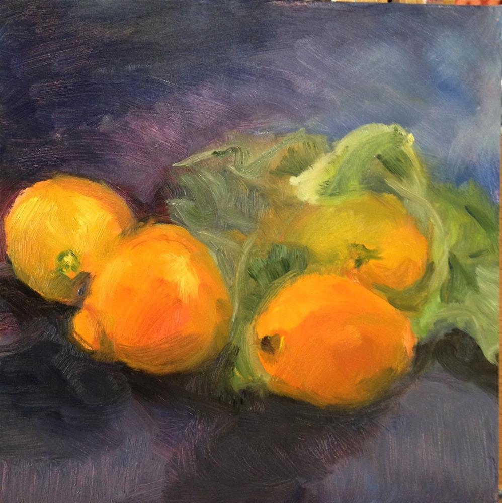"""day29; oranges"" original fine art by Brenda Short"