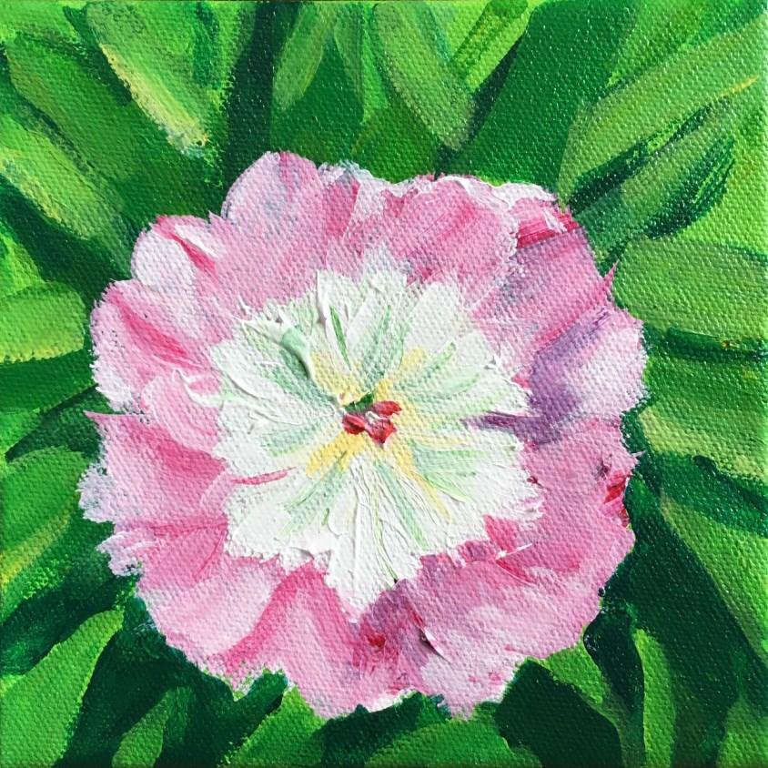 """Flower"" original fine art by Betsy Cook"