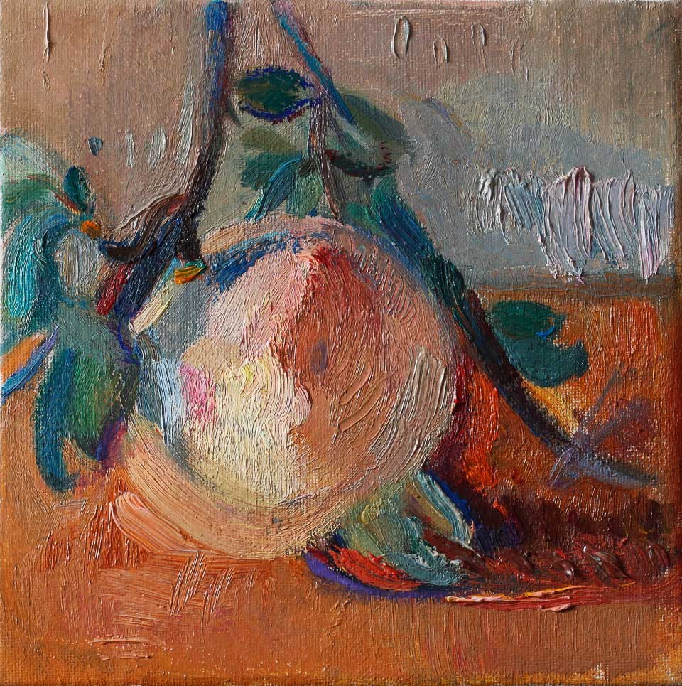 """Pomegranate"" original fine art by Anna Fine Art"