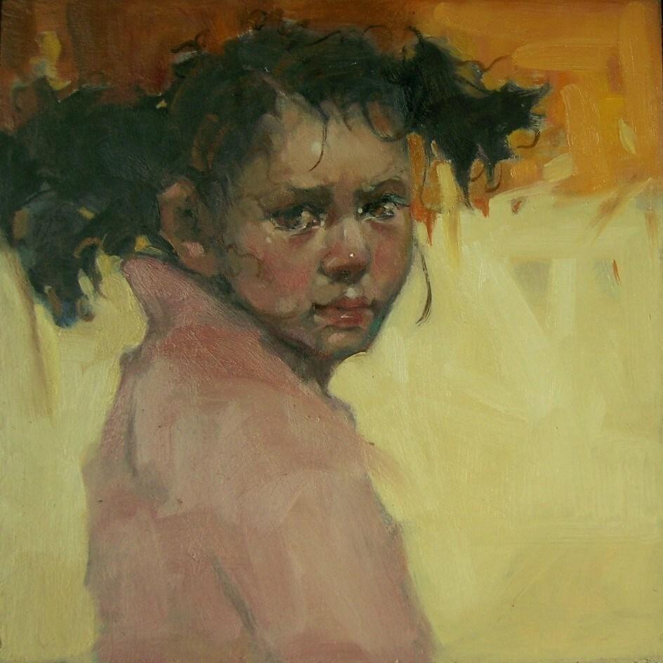 """Desert Rose"" original fine art by Kim Roberti"