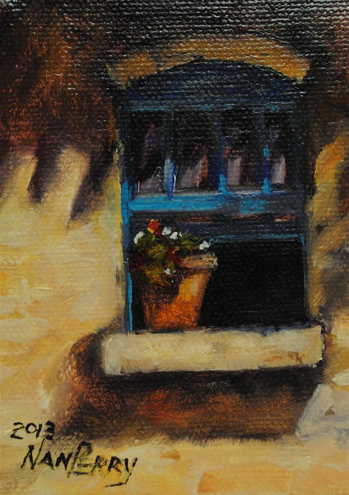 """""""Open Window"""" original fine art by Nan Perry"""