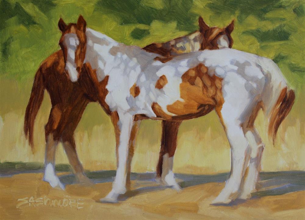 """''Under Cover''"" original fine art by Susan Ashmore"