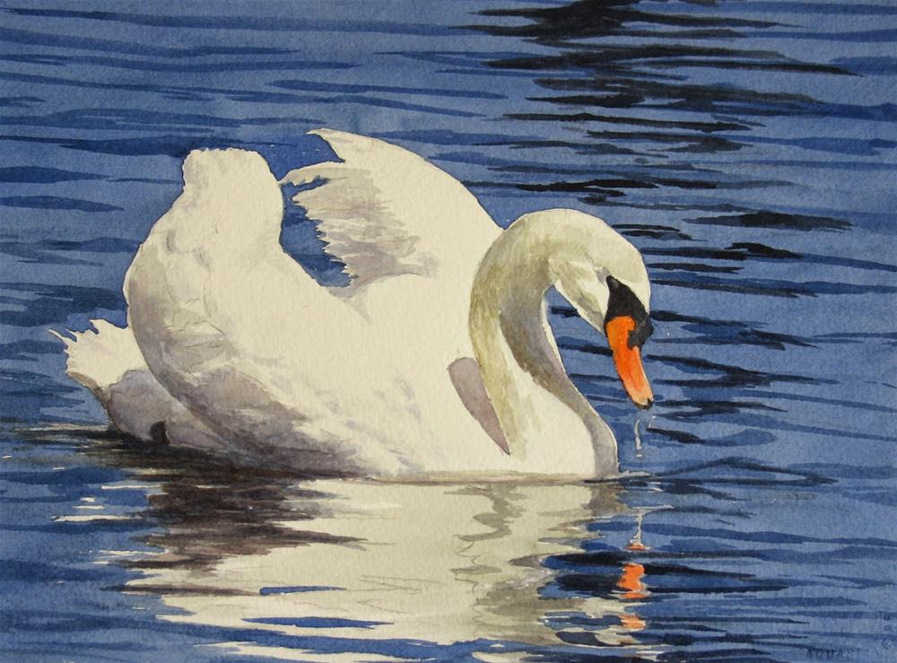 """Beauty in White- Studio Sale"" original fine art by Vikki Bouffard"