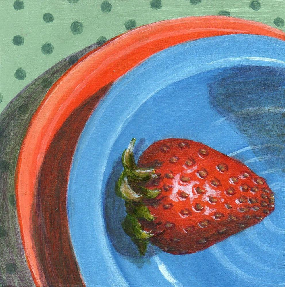 """Living on the Edge"" original fine art by Debbie Shirley"